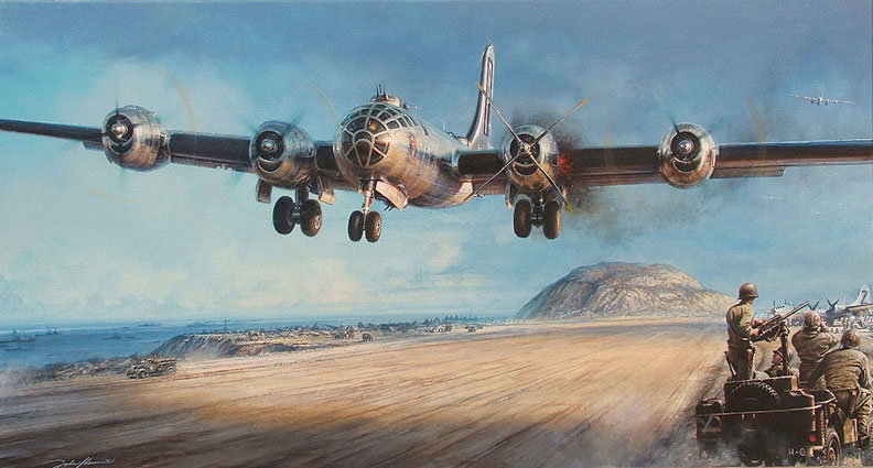 "IFR Flight & SIM Center™ - Aviator Gallery.com - ""Iwo Jima, A Hard Won Battle"", by John D. Shaw"