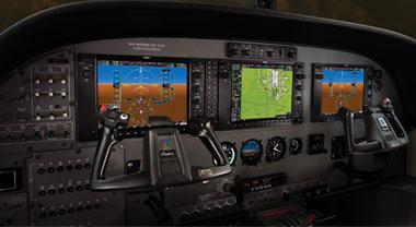IFR Training Philosophy - Caravan G1000 Panel - IFR Flight Training School™ SIM Center